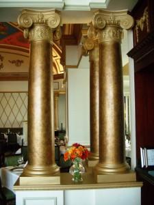 AFE Fiberglass Columns