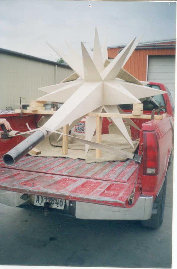 Custom & Specialty Fiberglass—Christmas Star