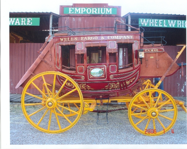 Custom & Specialty Fiberglass—Wells Fargo Carriage