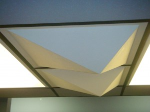 FRP Sound Diffuser Ceiling Panels