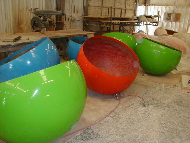 Custom & Specialty Fiberglass—Balls