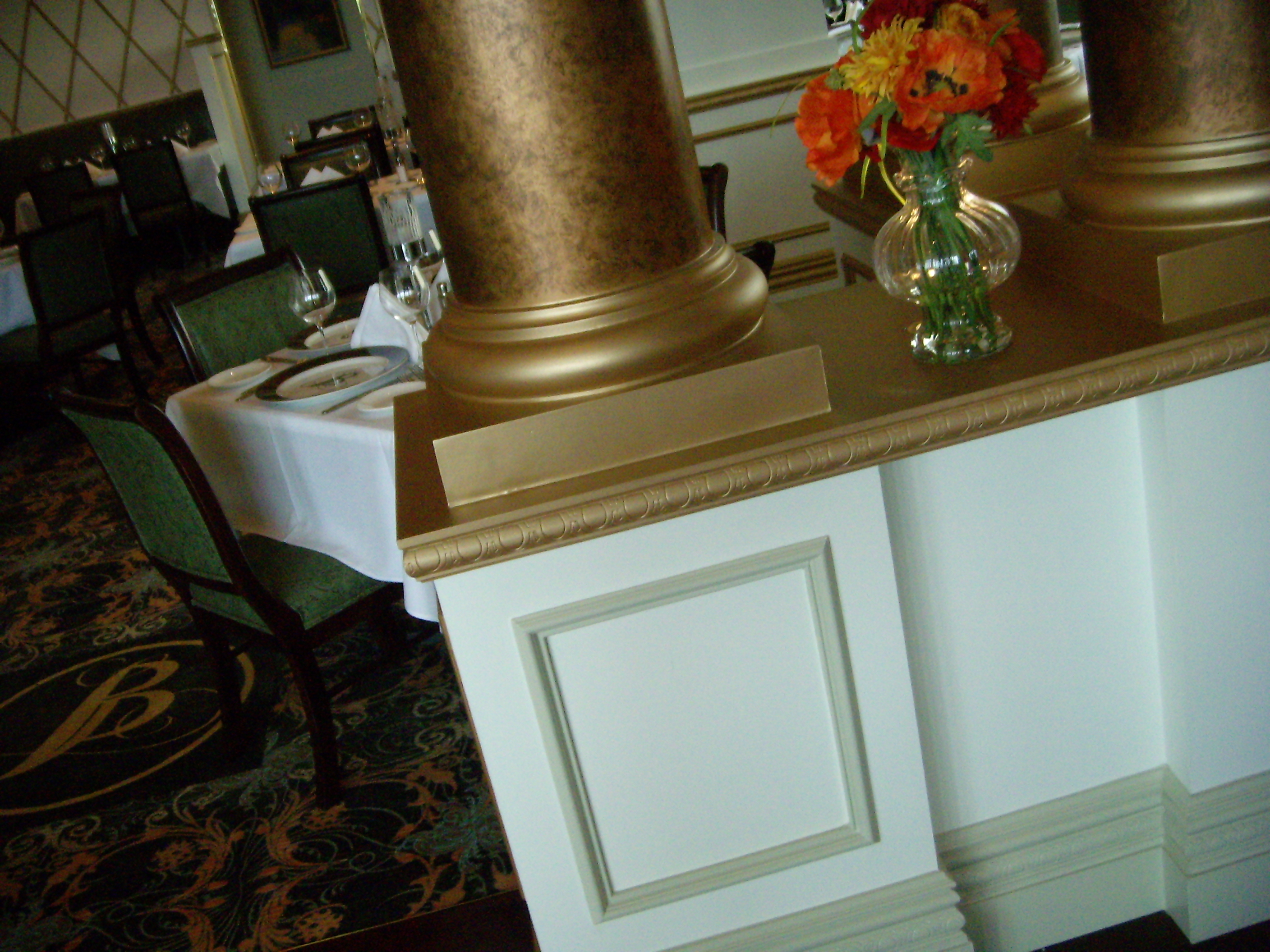 Fiberglass Column Cover Base