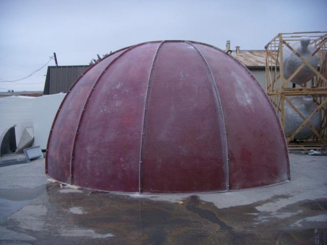 Fiberglass Dome 2