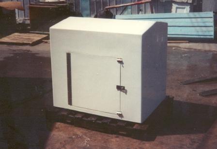 Fiberglass Pump Cover 2