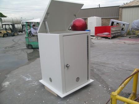 Fiberglass Pump cover 6