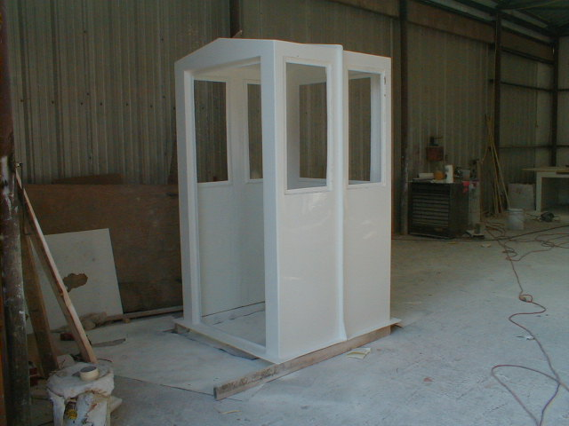 AFE Fiberglass Shelters—Booth