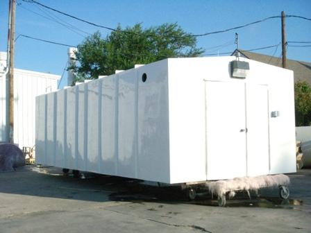 AFE Fiberglass Shelters—Building